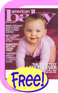 Amostras Gratis Revista American Baby